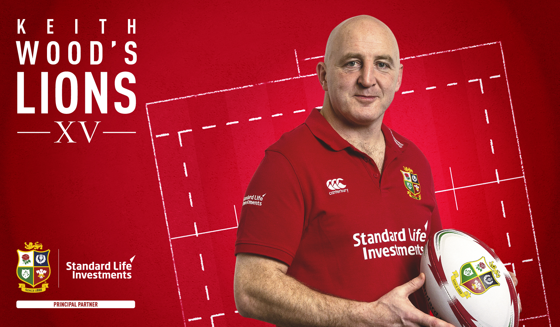Standard Life Investments Ambassador Wood to select Lions XV from Round 4