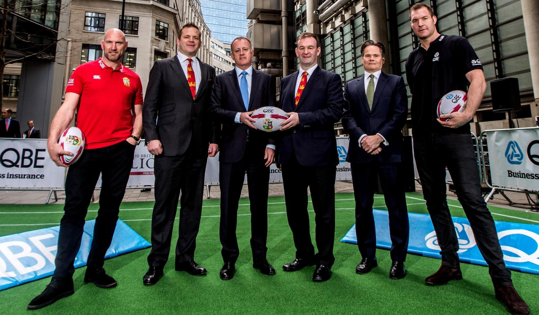QBE to partner the British & Irish Lions for 2017 tour to New Zealand