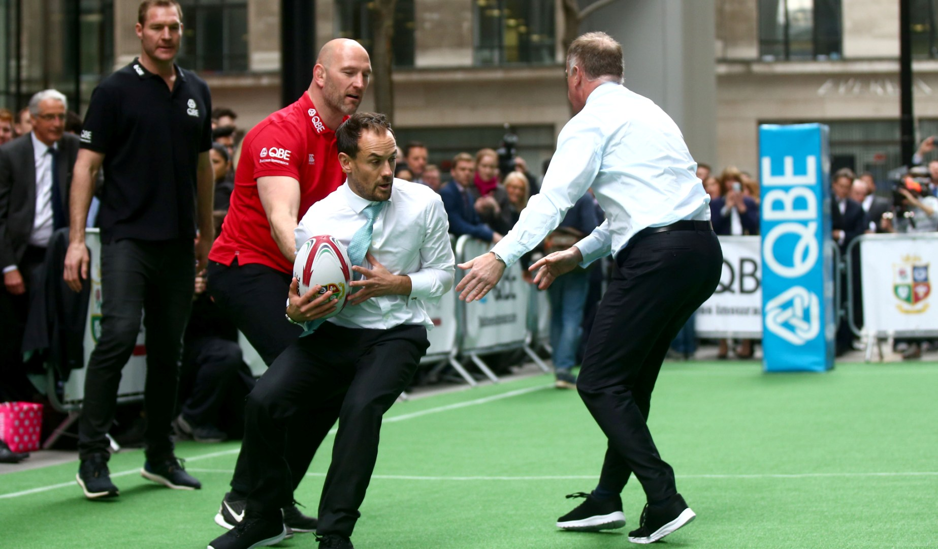 QBE bring touch rugby to the heart of London