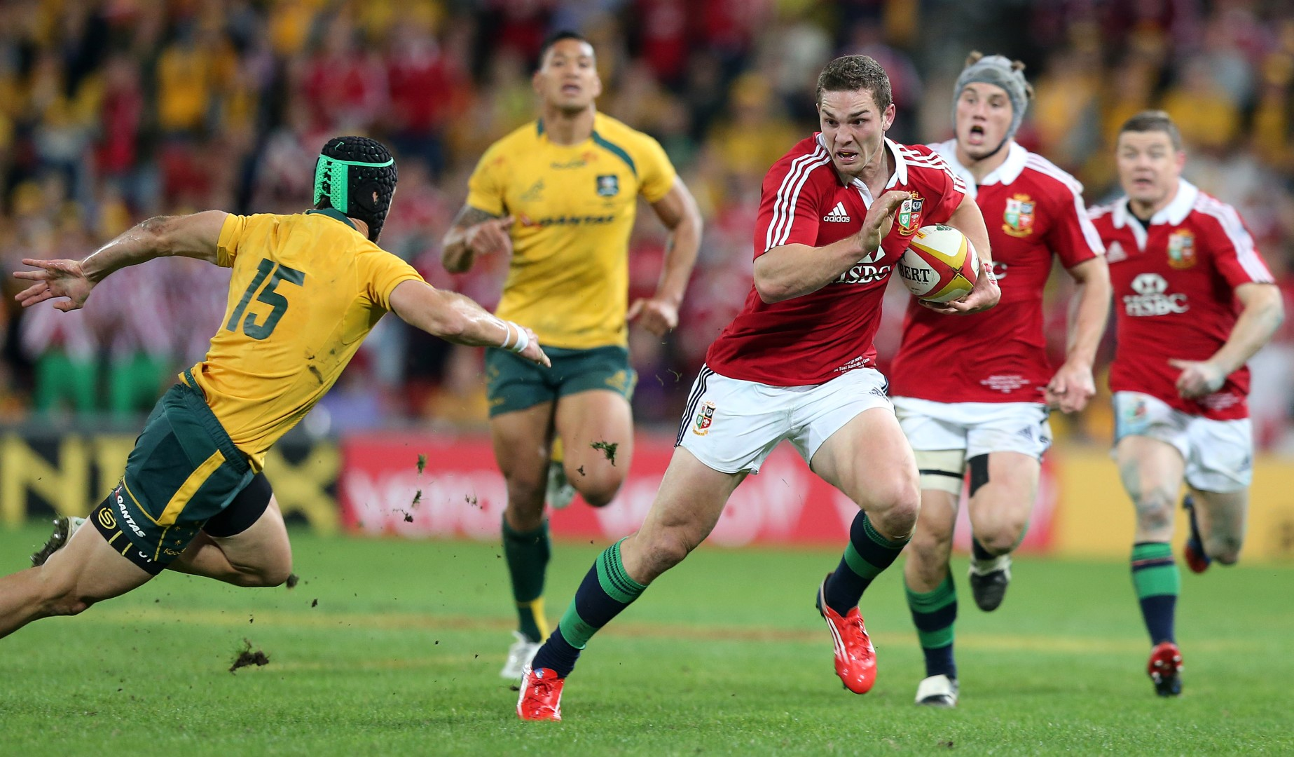 On This Day: North stars in the 2013 Lions first Test success