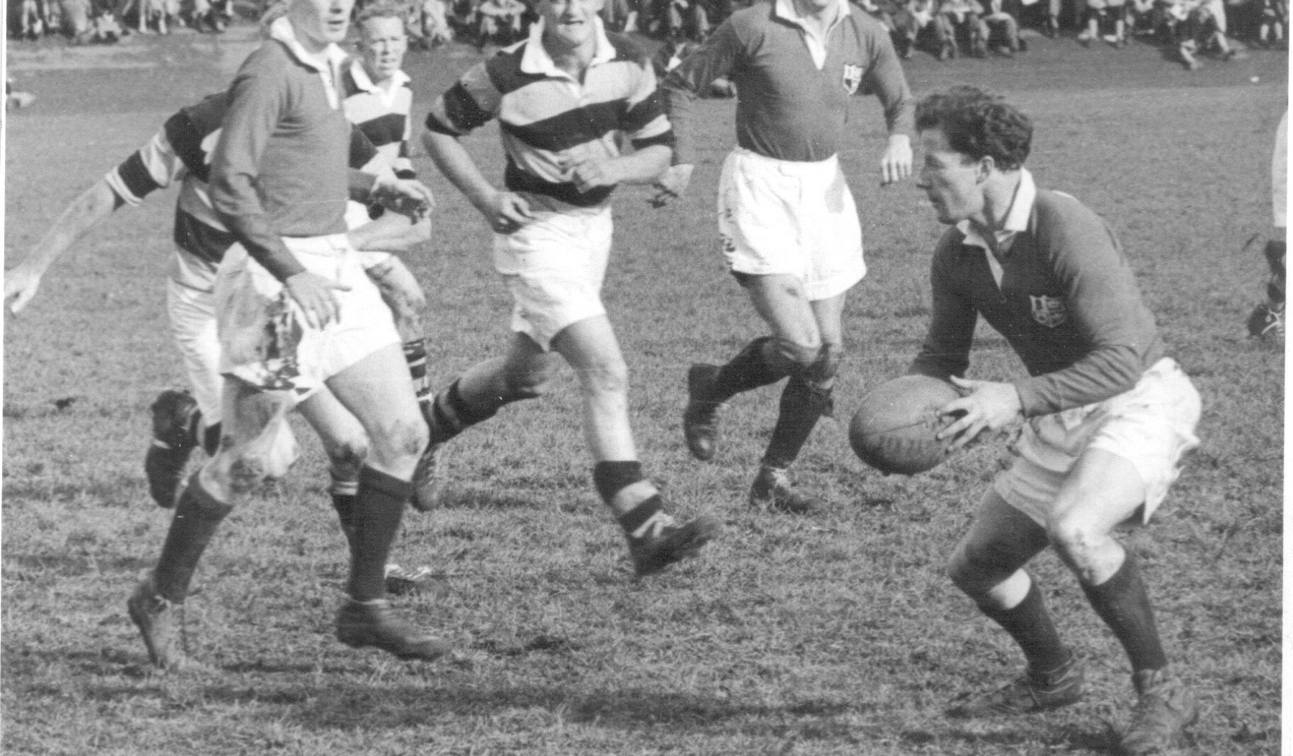 On This Day: Jack Kyle stars as the Lions draw 9-9 in the first Test of the 1950 Tour