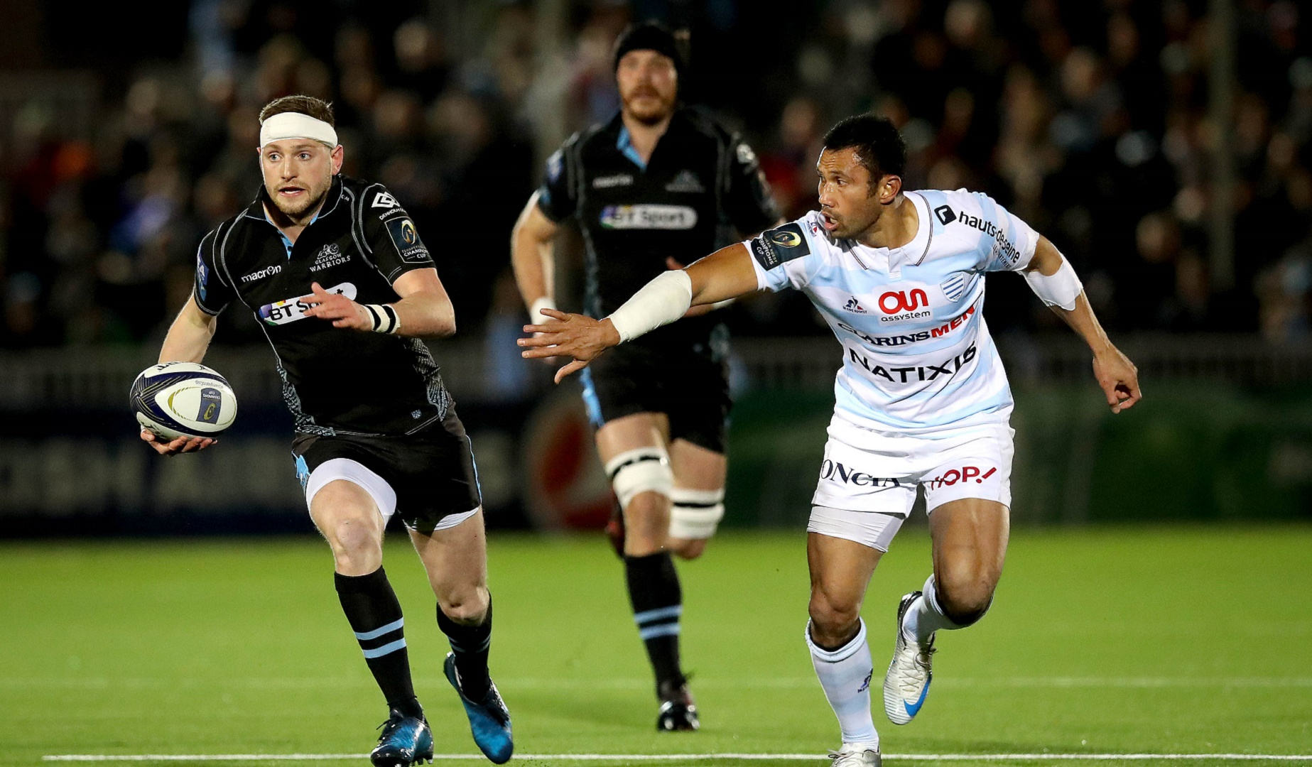LionsWatch: Russell runs the show for rampant Warriors at Scotstoun