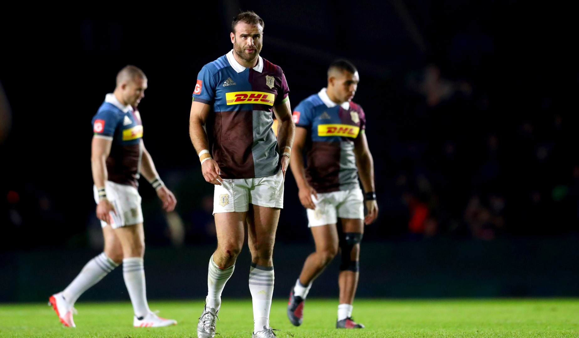 LionsWatch: Roberts hat-trick helps Quins cruise