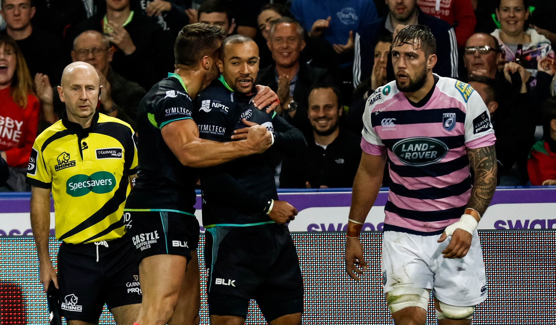 LionsWatch: Ospreys on song in Welsh derby