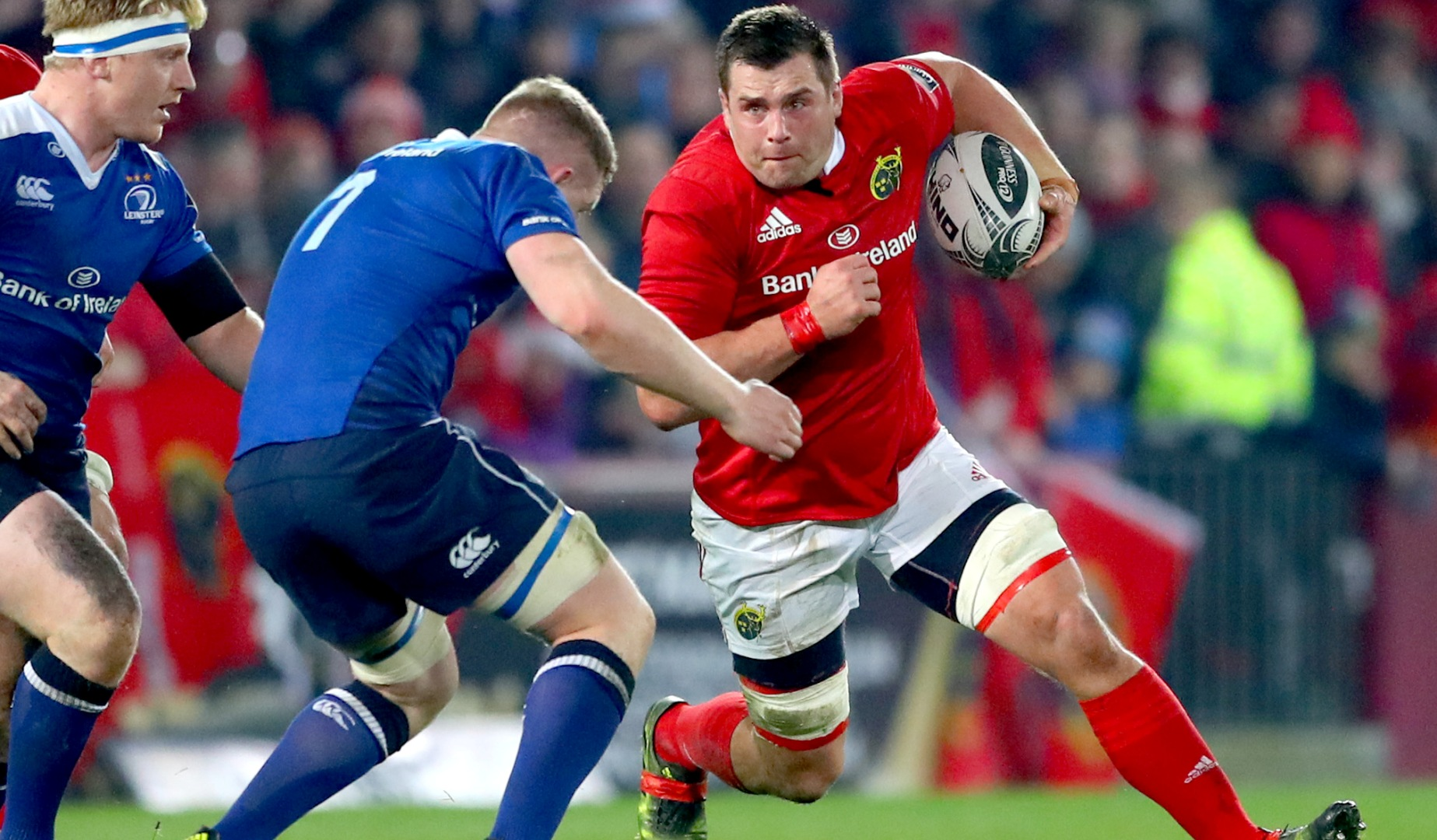 LionsWatch: Murray and Stander key to Munster's interpro triumph