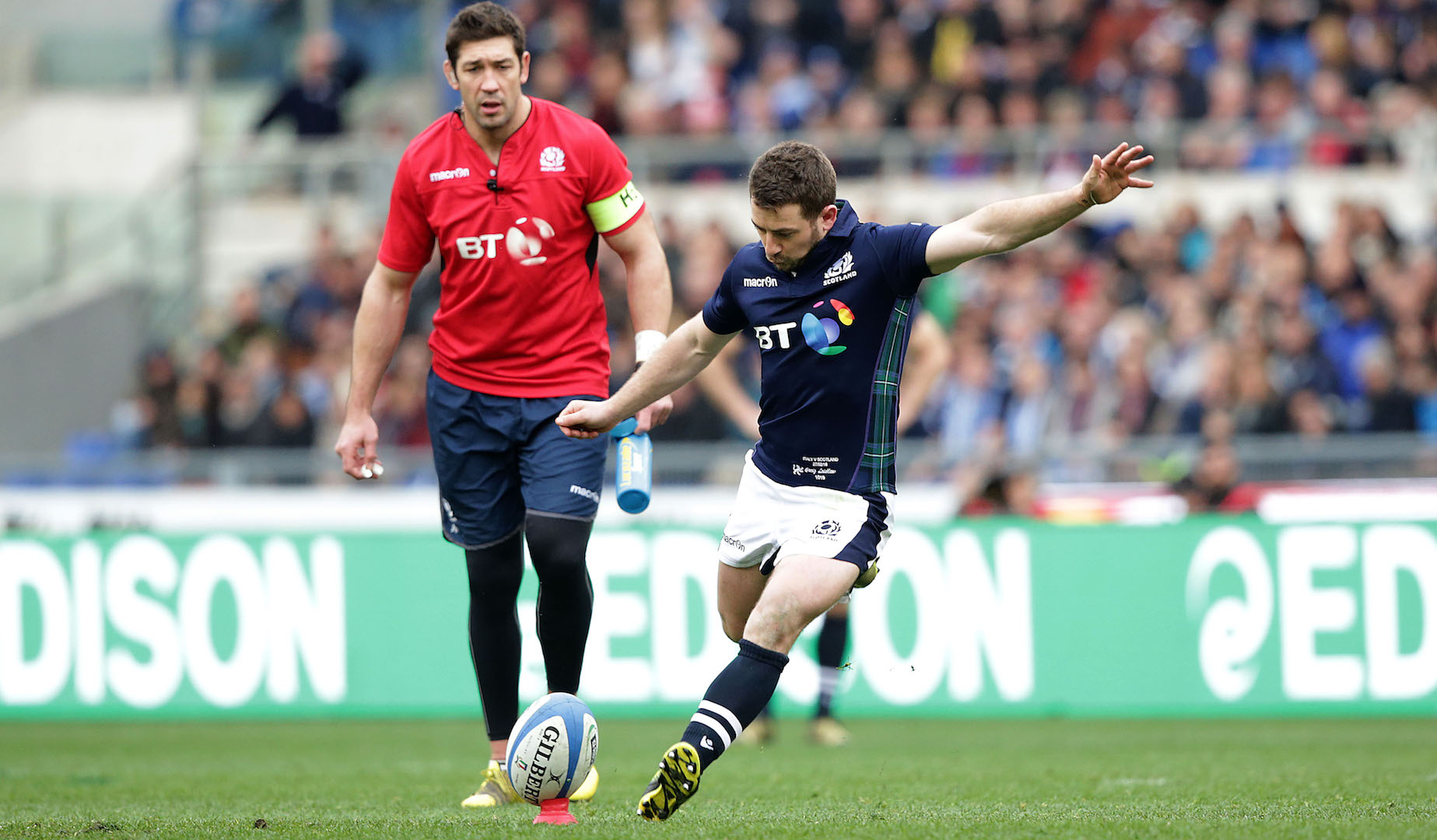 LionsWatch: Late Laidlaw penalty gives Scotland victory