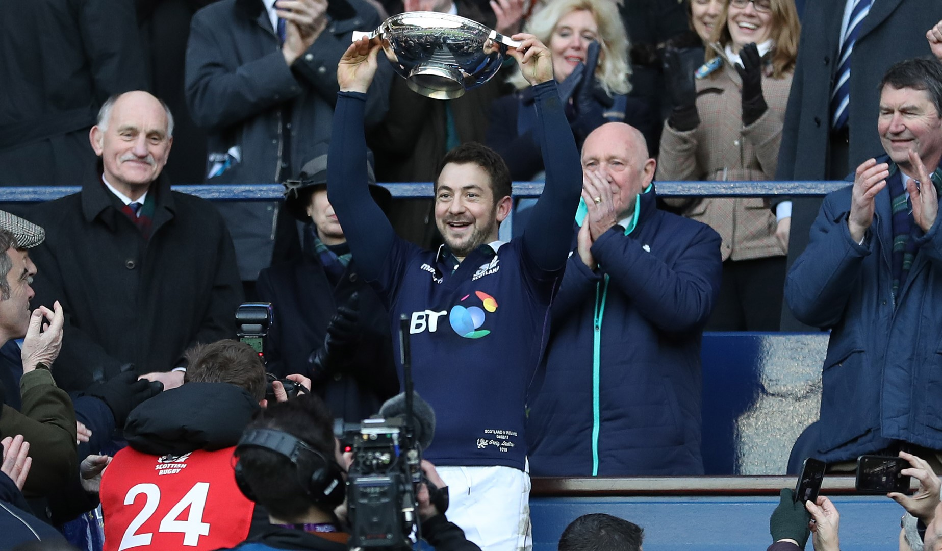 LionsWatch: Laidlaw delighted to end Scottish wait on opening day
