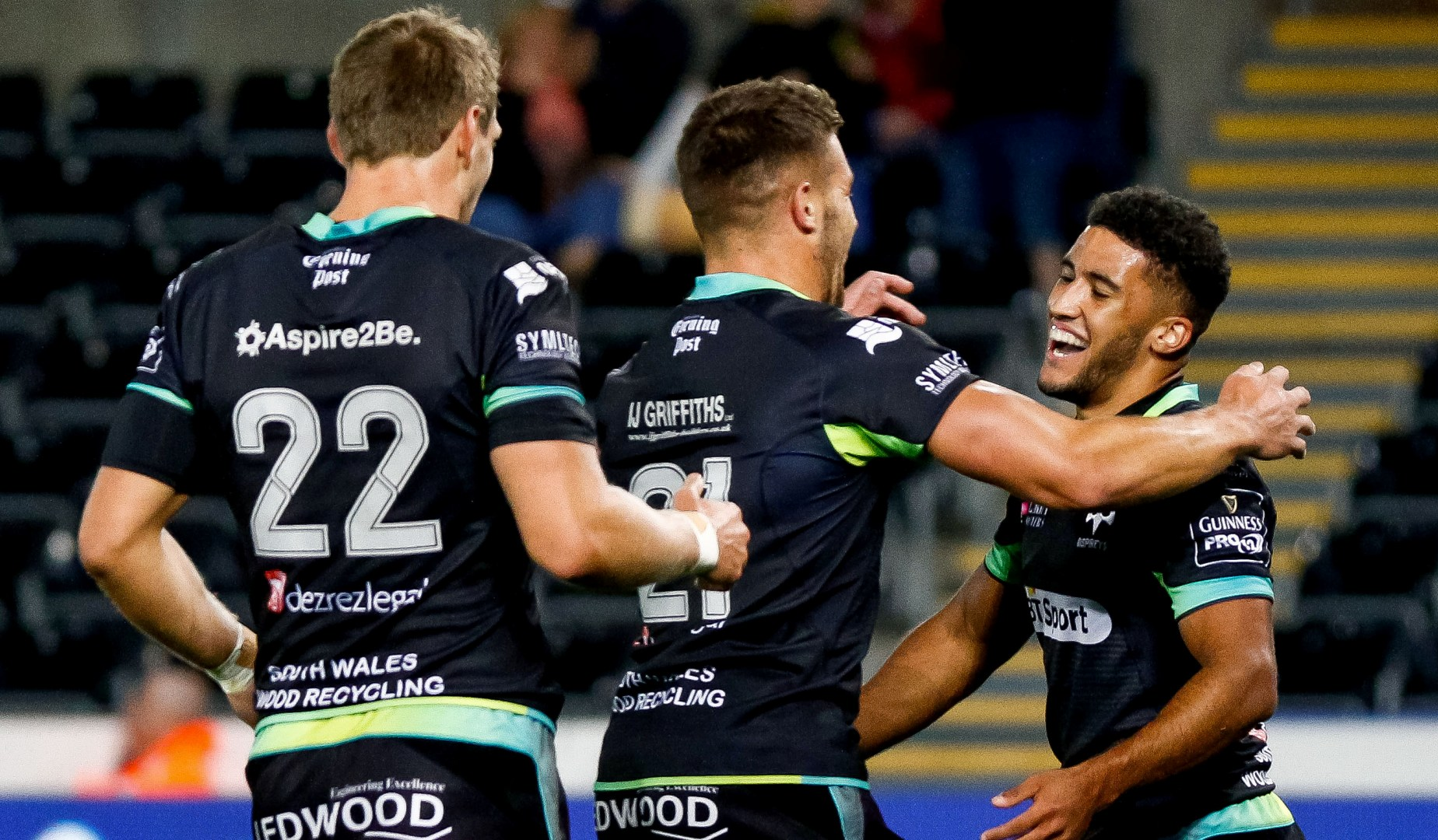 LionsWatch: Keelan Giles stars with Ospreys hat-trick