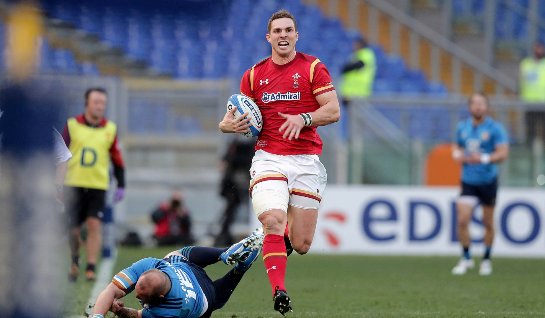 LionsWatch: Jones pleased as Wales pass Italy test