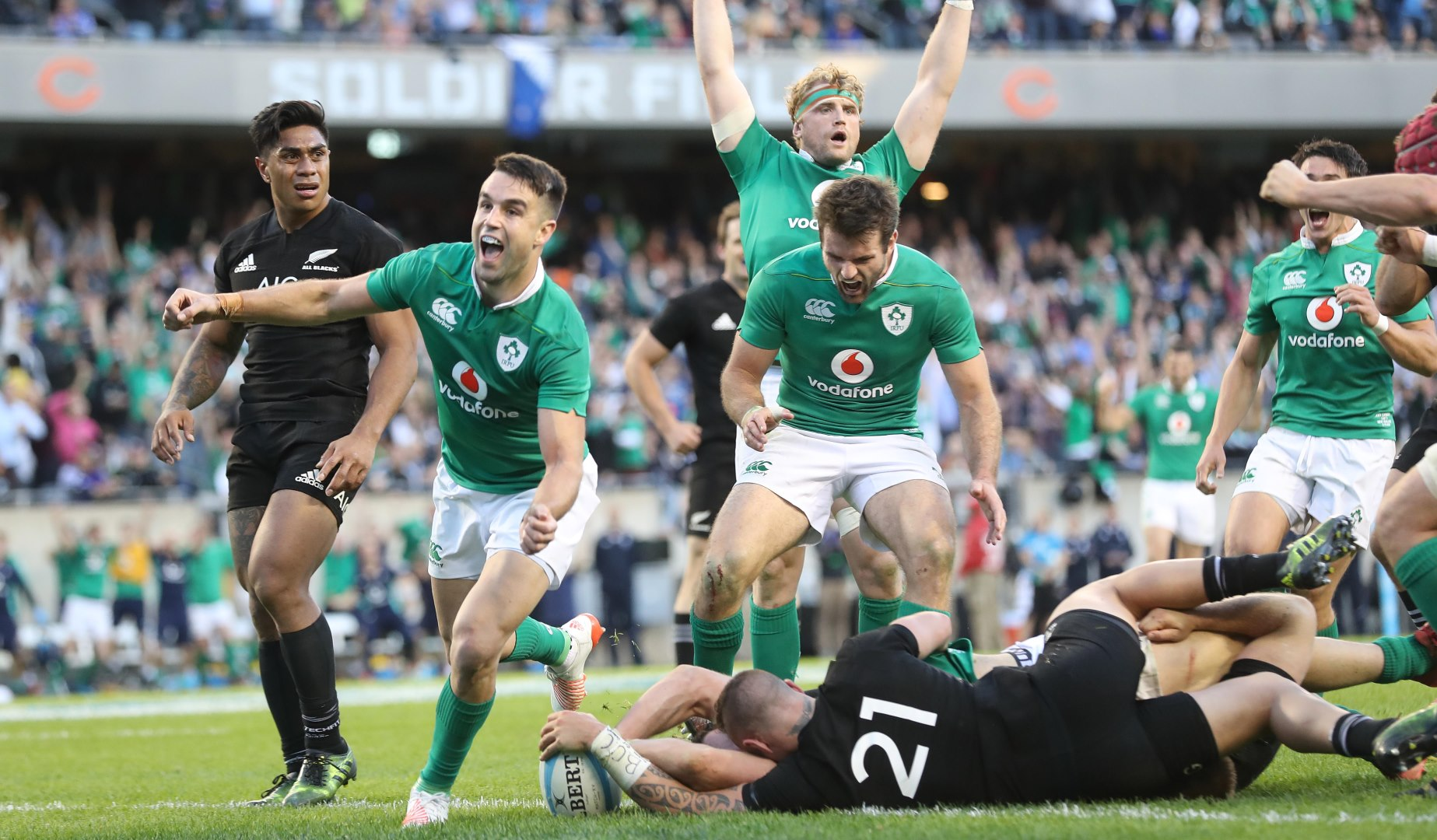 LionsWatch: Ireland claim historic first win over the All Blacks