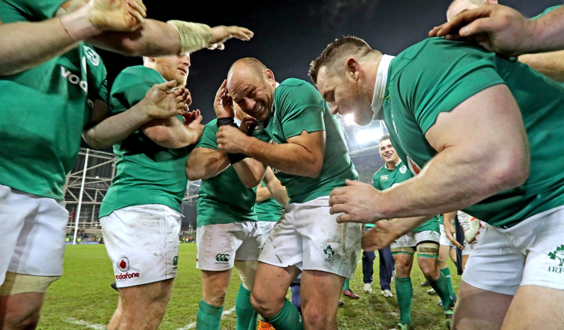 LionsWatch: Best brings up century as Ireland complete Southern Hemisphere treble