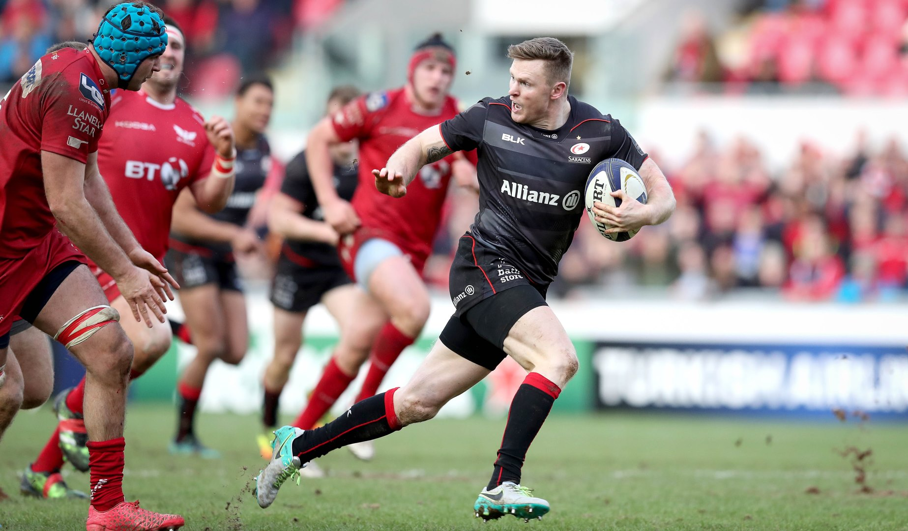 LionsWatch: Ashton leaves it late for Saracens