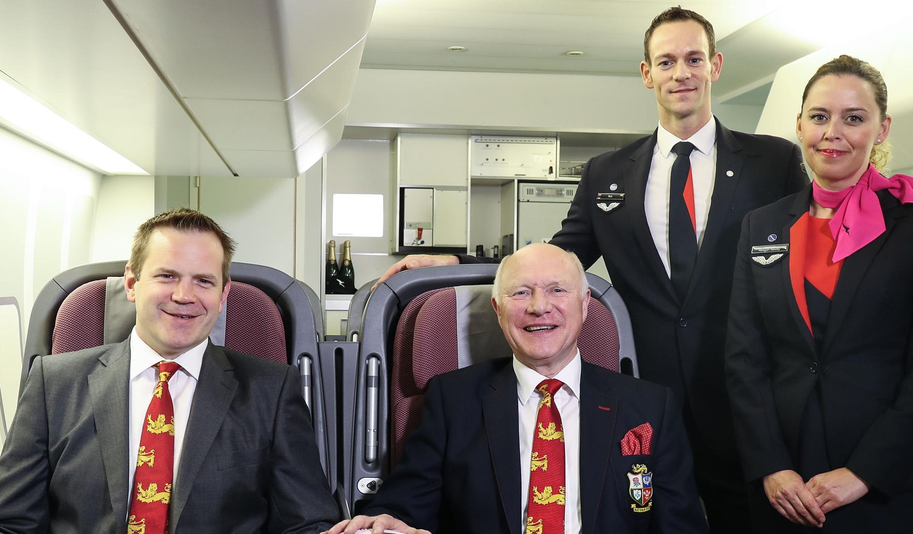 Lions take off with Qantas