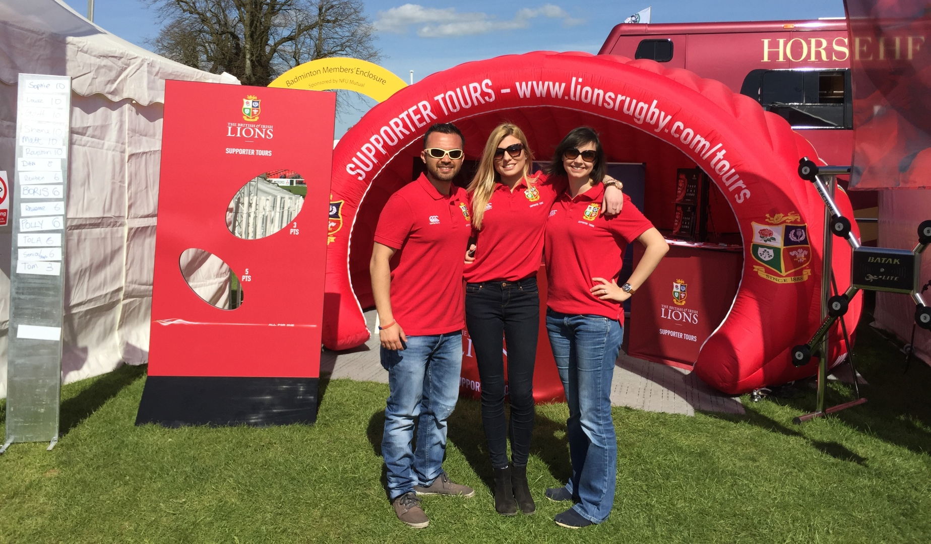 Lions Outdoor Experience At Badminton Horse Trials
