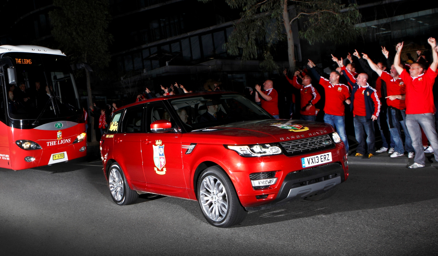Lions gear up for 20 years with Land Rover