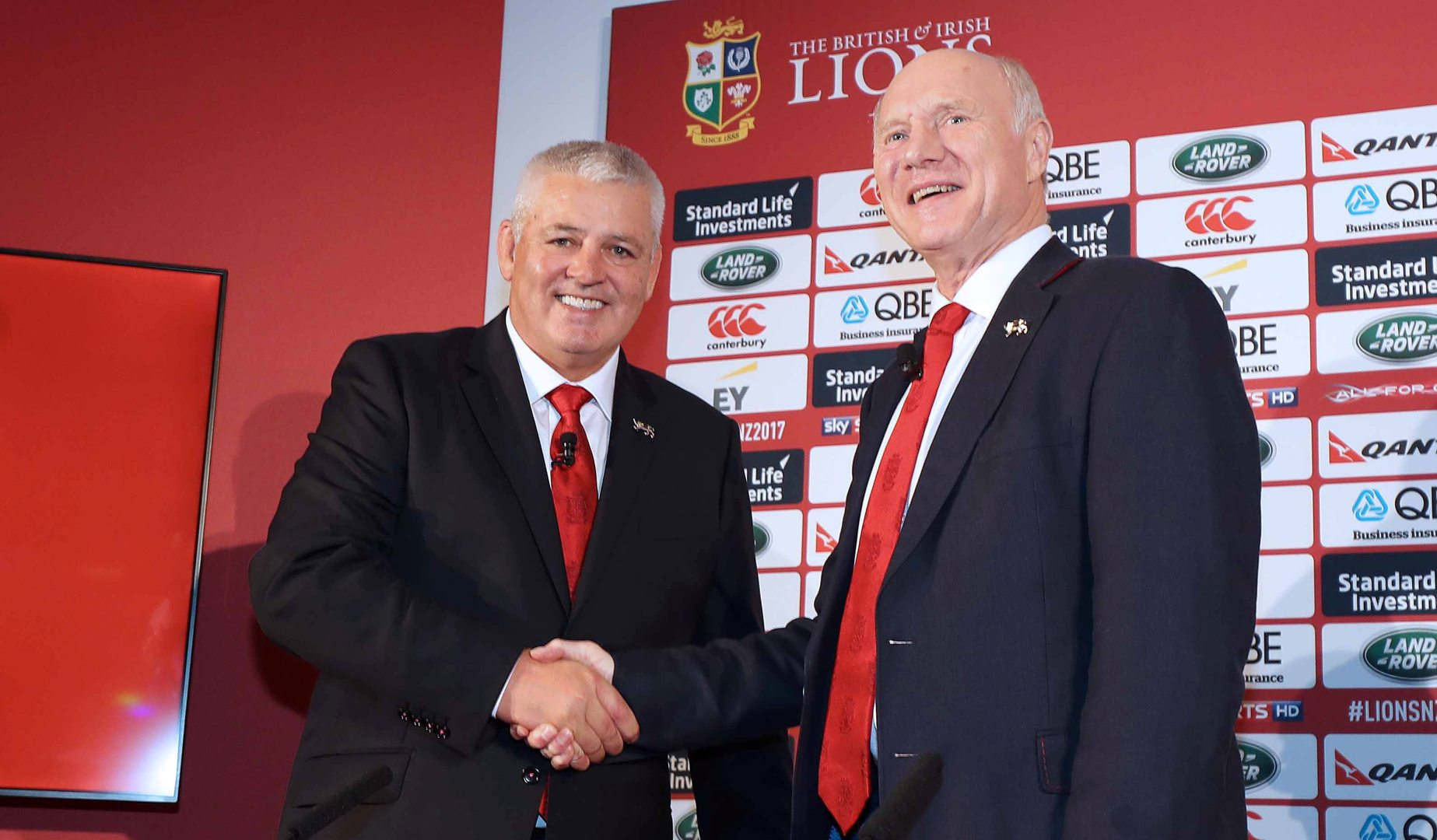 Watch The British & Irish Lions squad announcement LIVE
