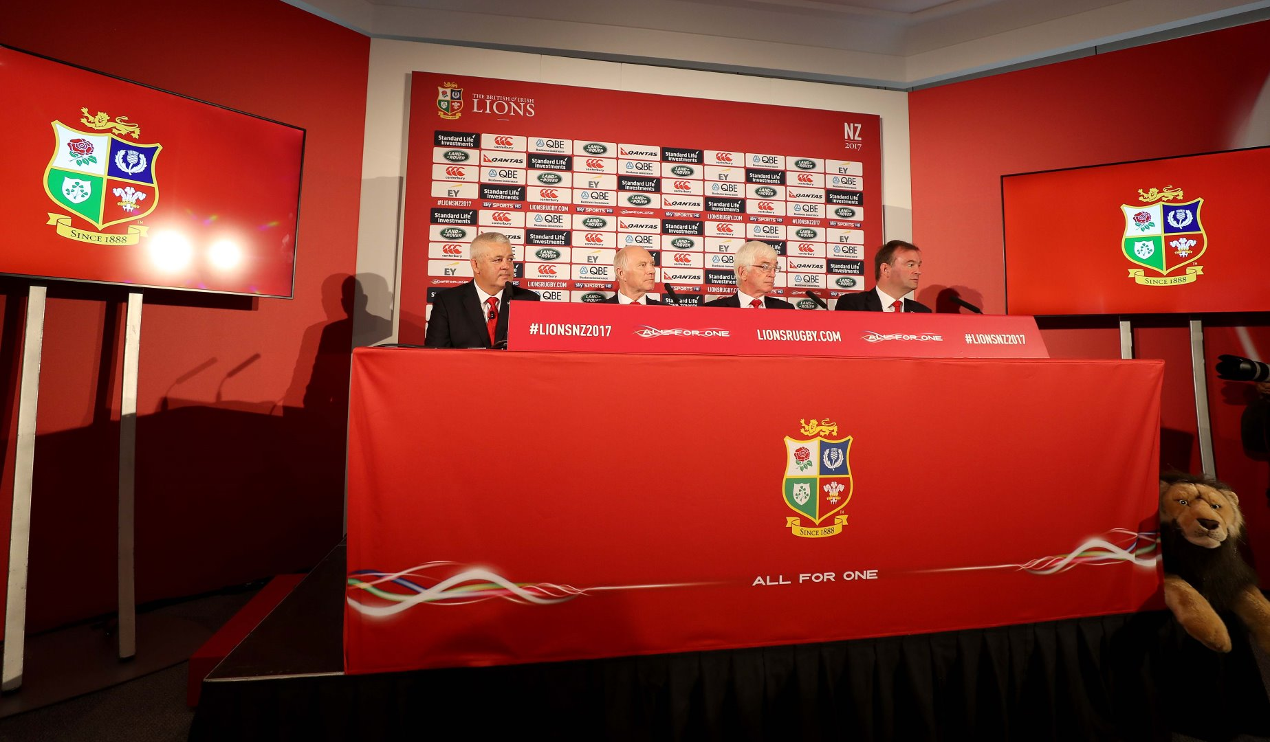 Lions appoint Heads of Analysis, Medical and Fitness