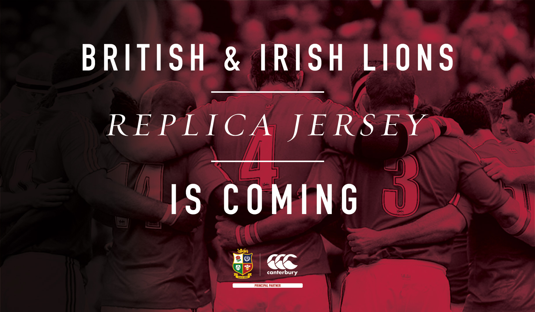 Iconic Lions Jersey is made available to pre-order