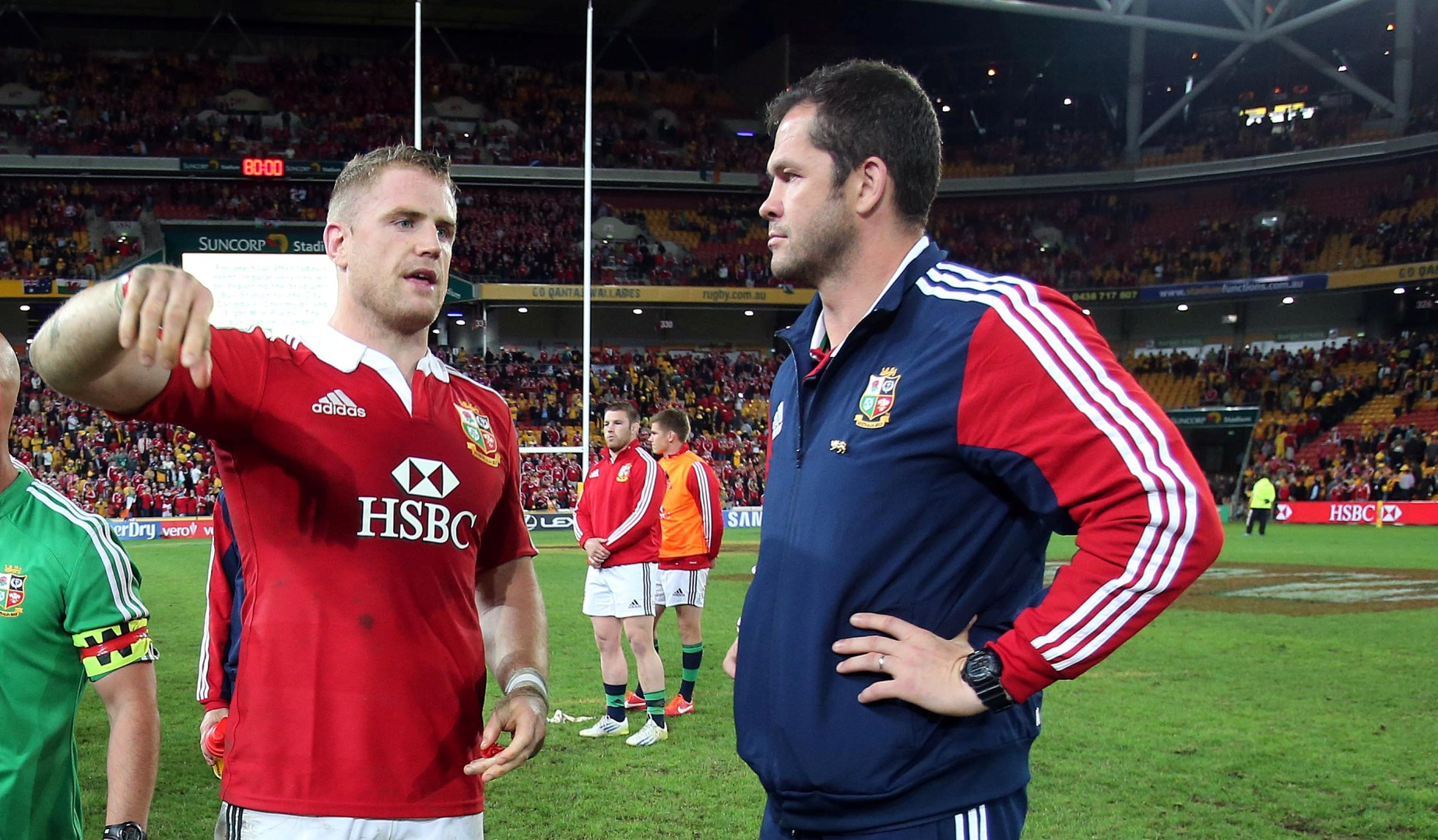 Heaslip excited about reuniting with Farrell