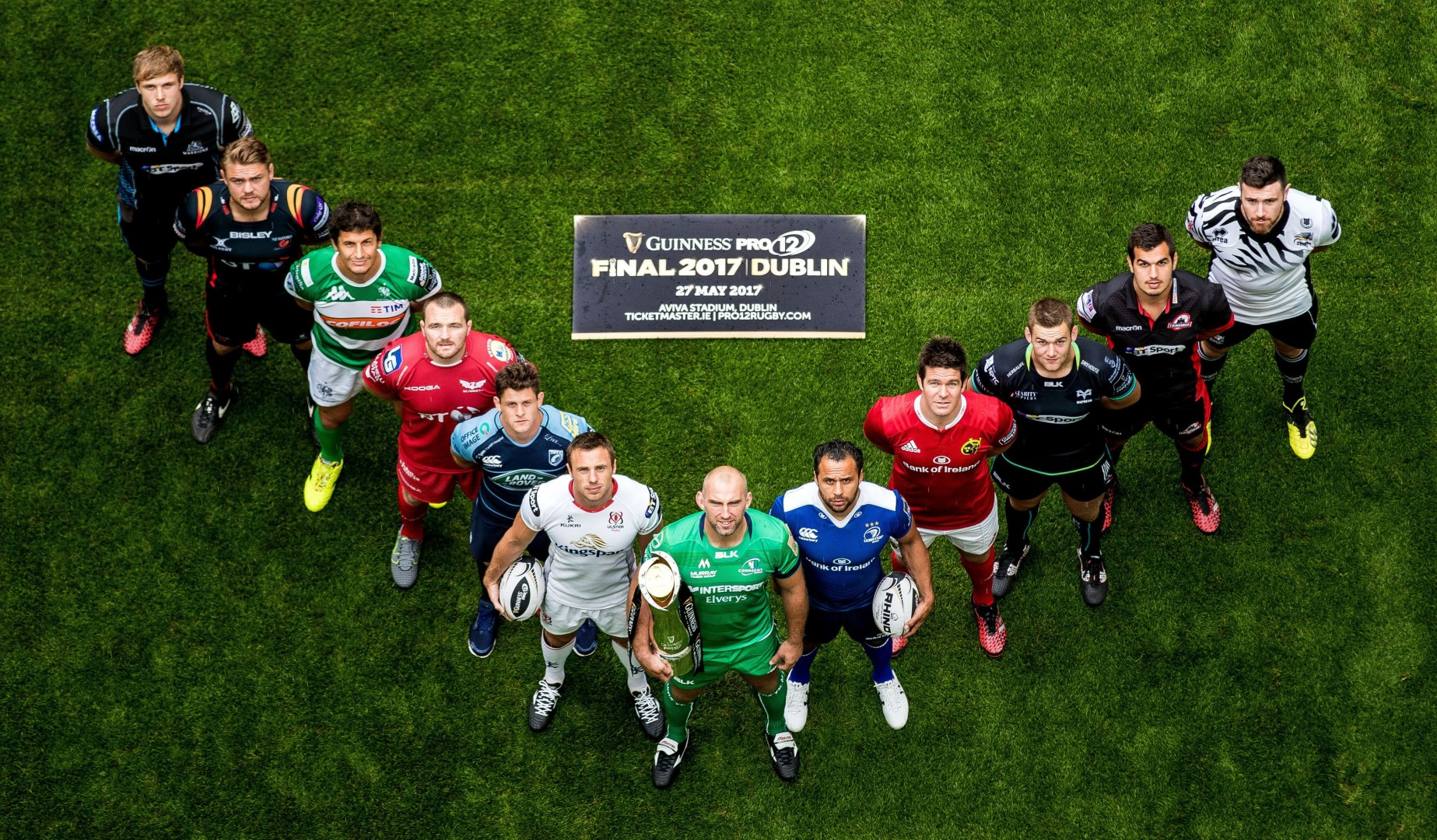 Guinness PRO12 launches in crucial Lions season