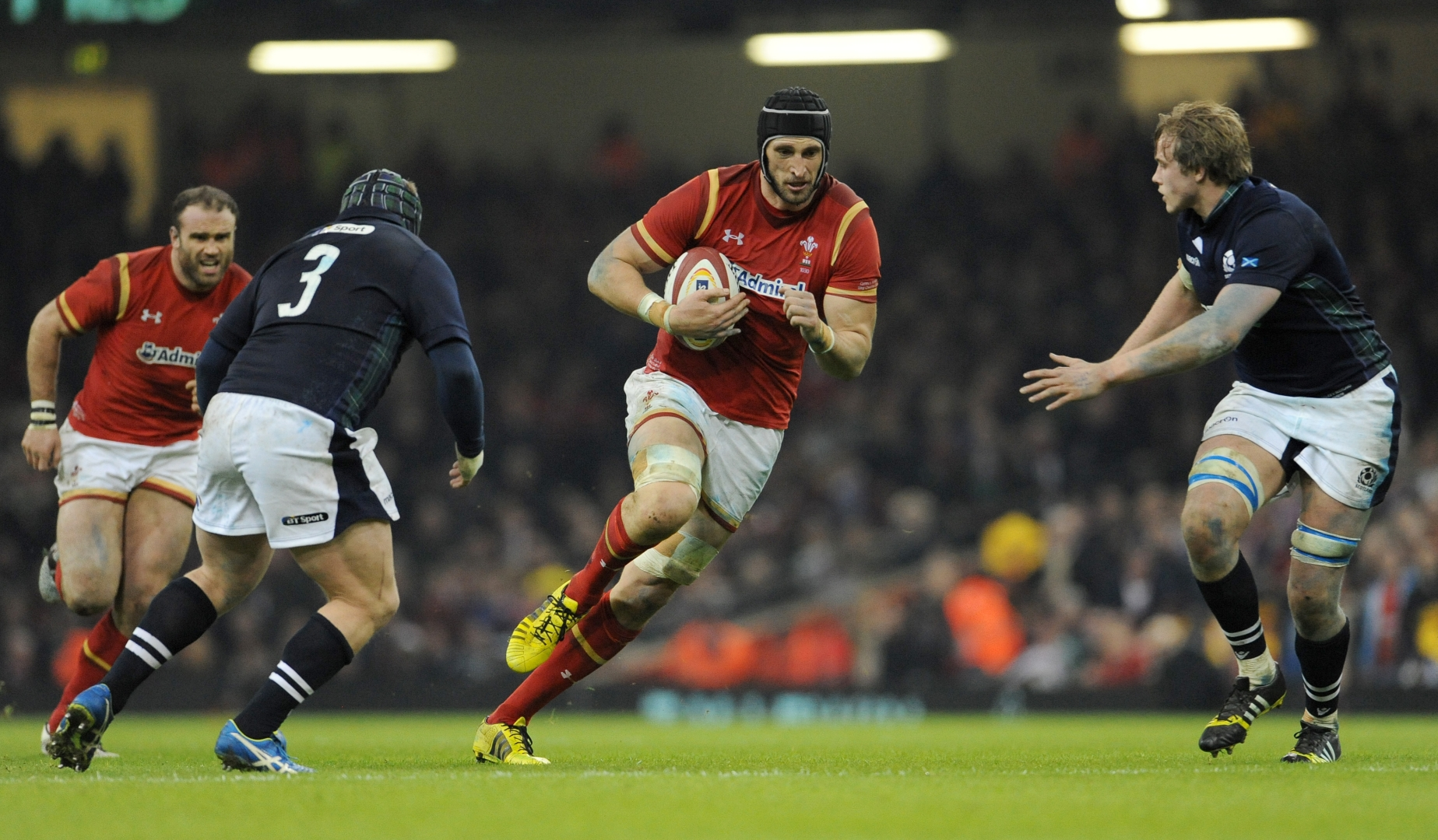 Gatland names Charteris skipper for Wales' tour match against Chiefs