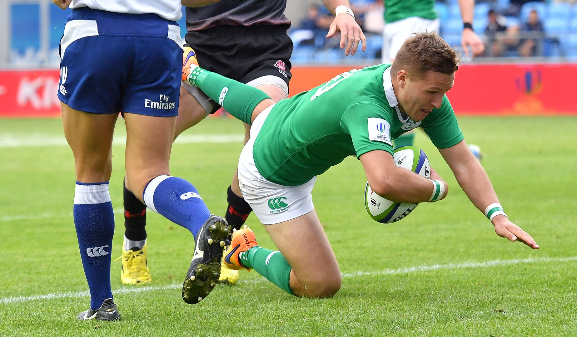England and Ireland starlets through to semi-finals