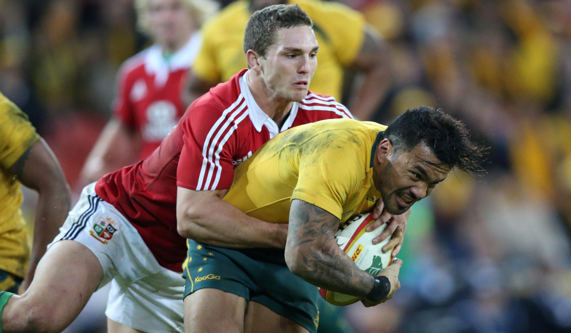 Digby Ioane in line for Lions rematch after Crusaders move