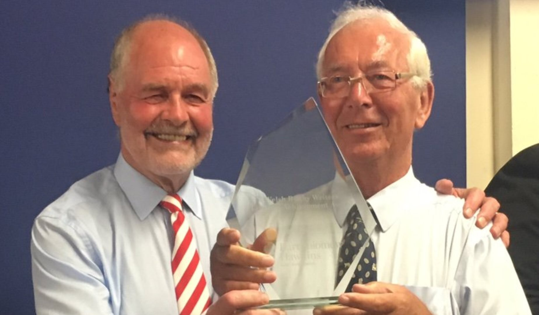 Dawes honoured at Welsh Rugby Writers awards