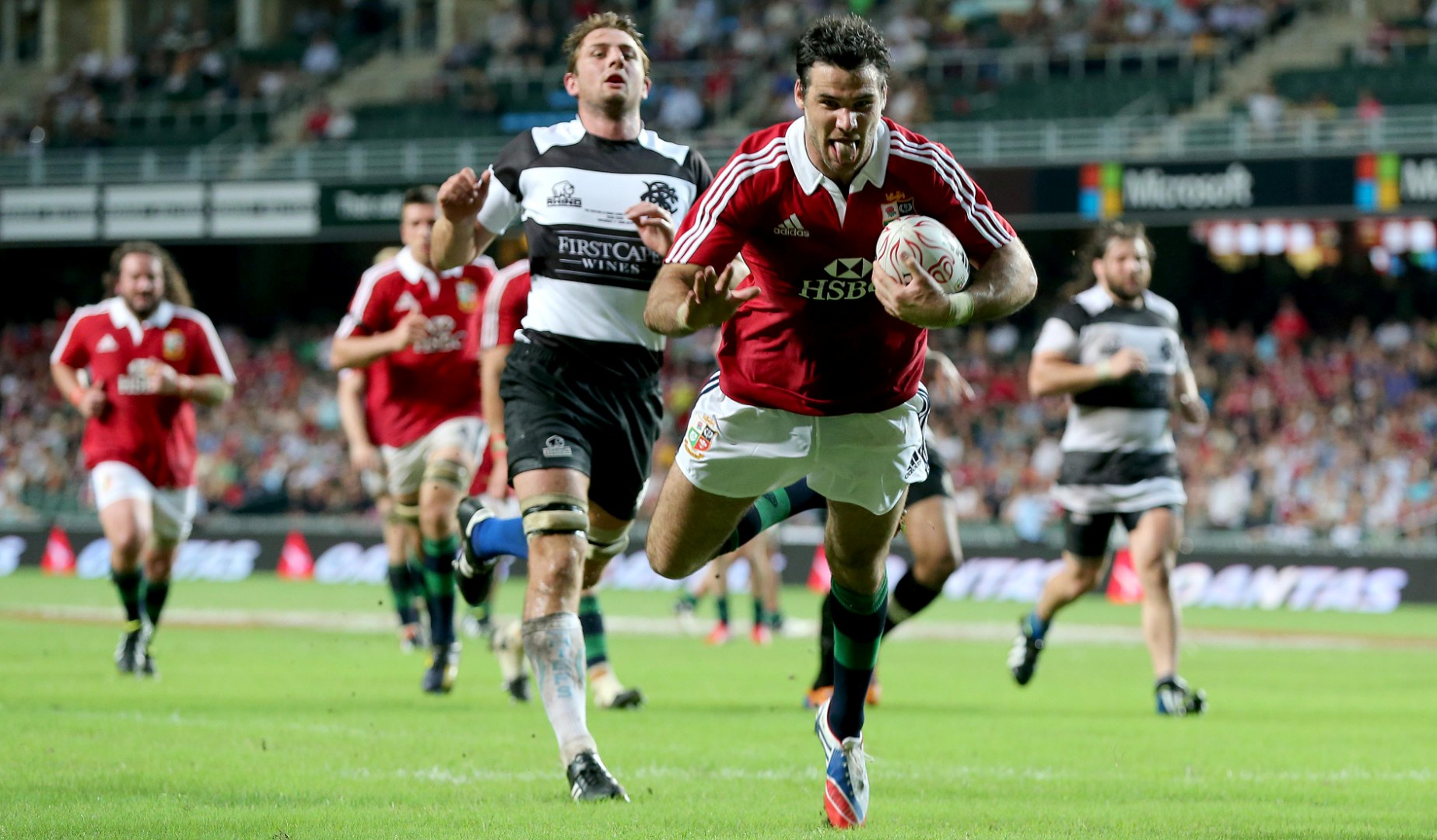 Classic Match: 2013 Lions kick off Tour in style against Barbarians