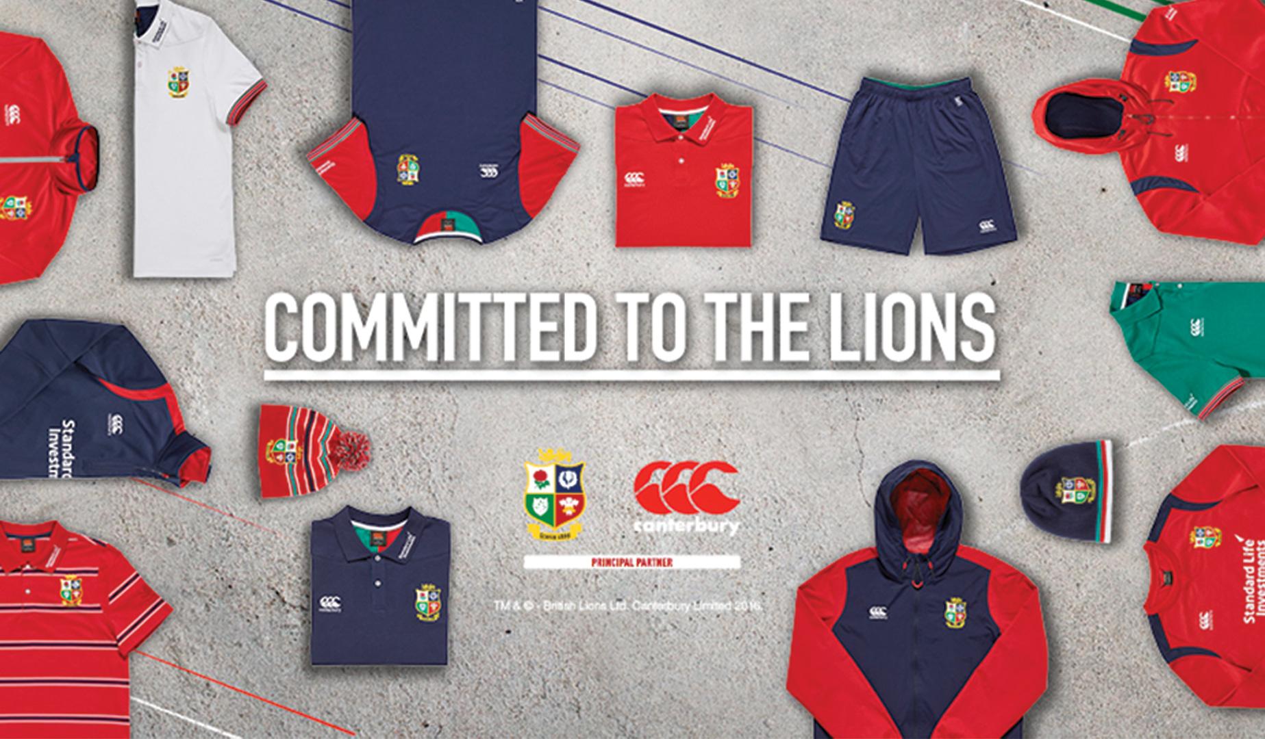 Canterbury unveil new Lions training kit