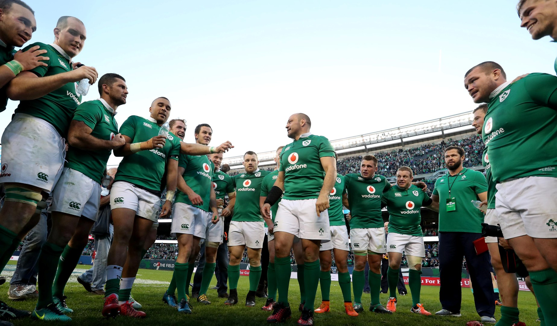 Best hails positive attitude after epic Ireland win