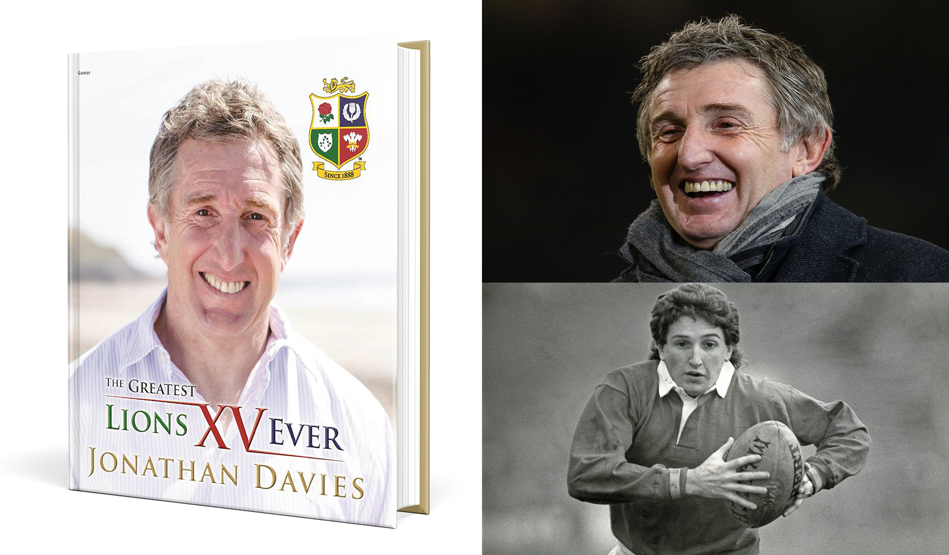 12 Days of Christmas – Win Jonathan Davies' Lions book