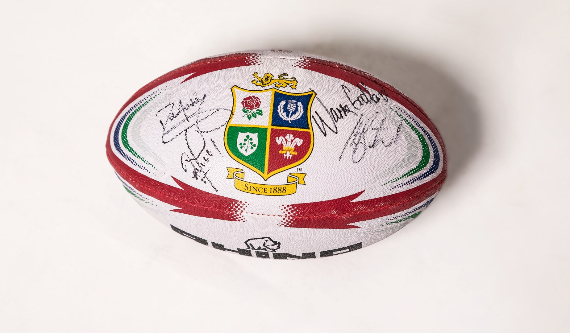 12 Days of Christmas – Win a signed Lions rugby ball