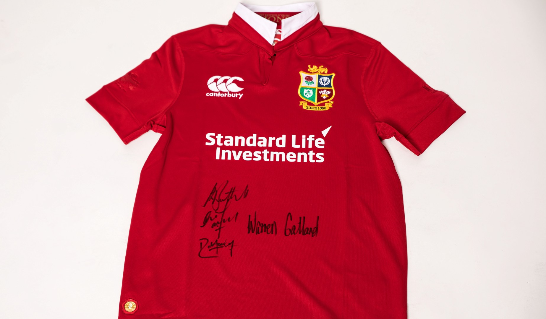 12 Days of Christmas – Win a Lions Jersey signed by The Coaching Team