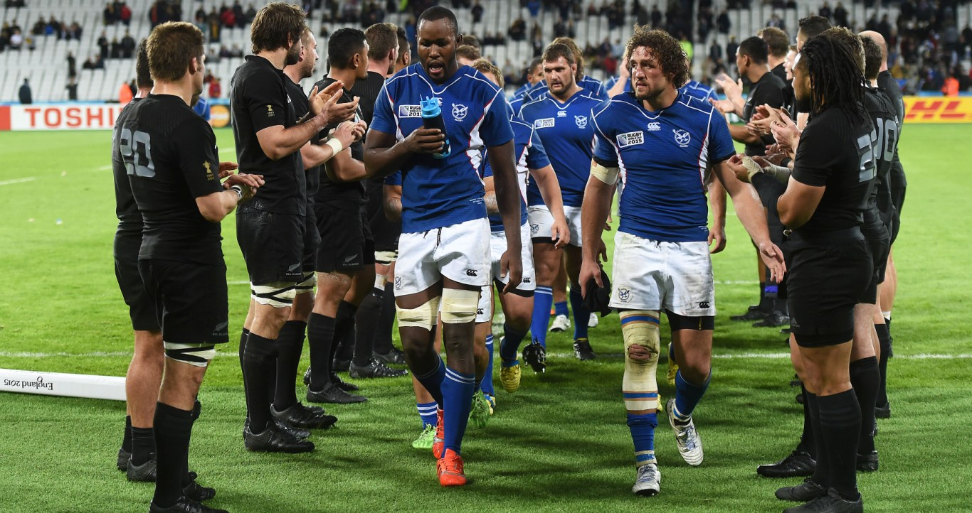 Namibia prove they belong against the All Blacks