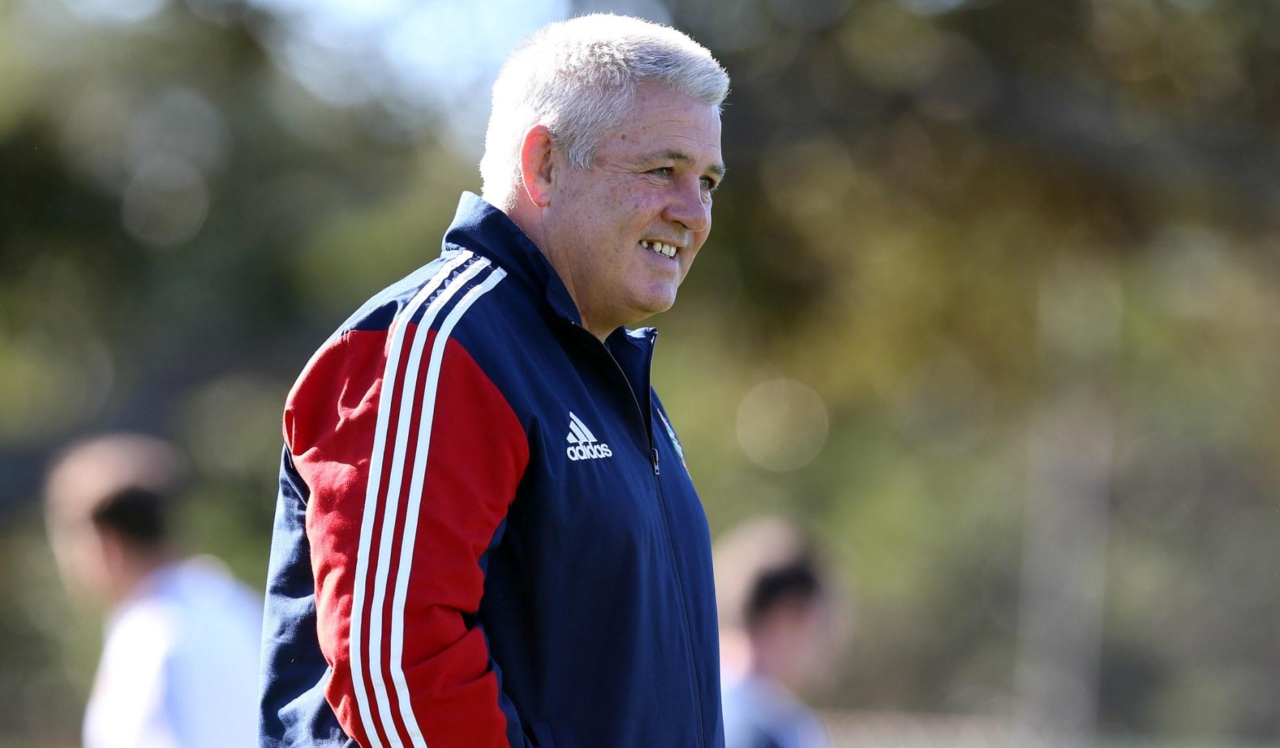 Gatland's first taste of the Lions