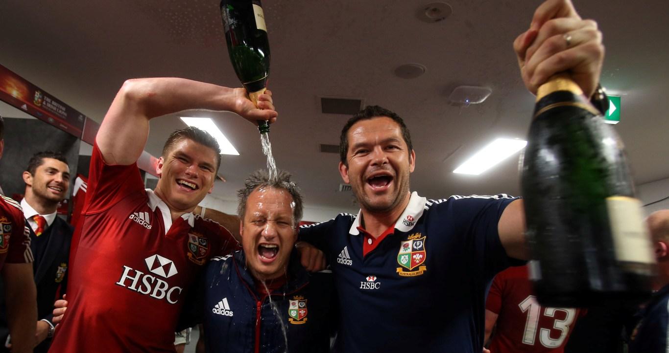 Gatland reunites with British & Irish Lions coach