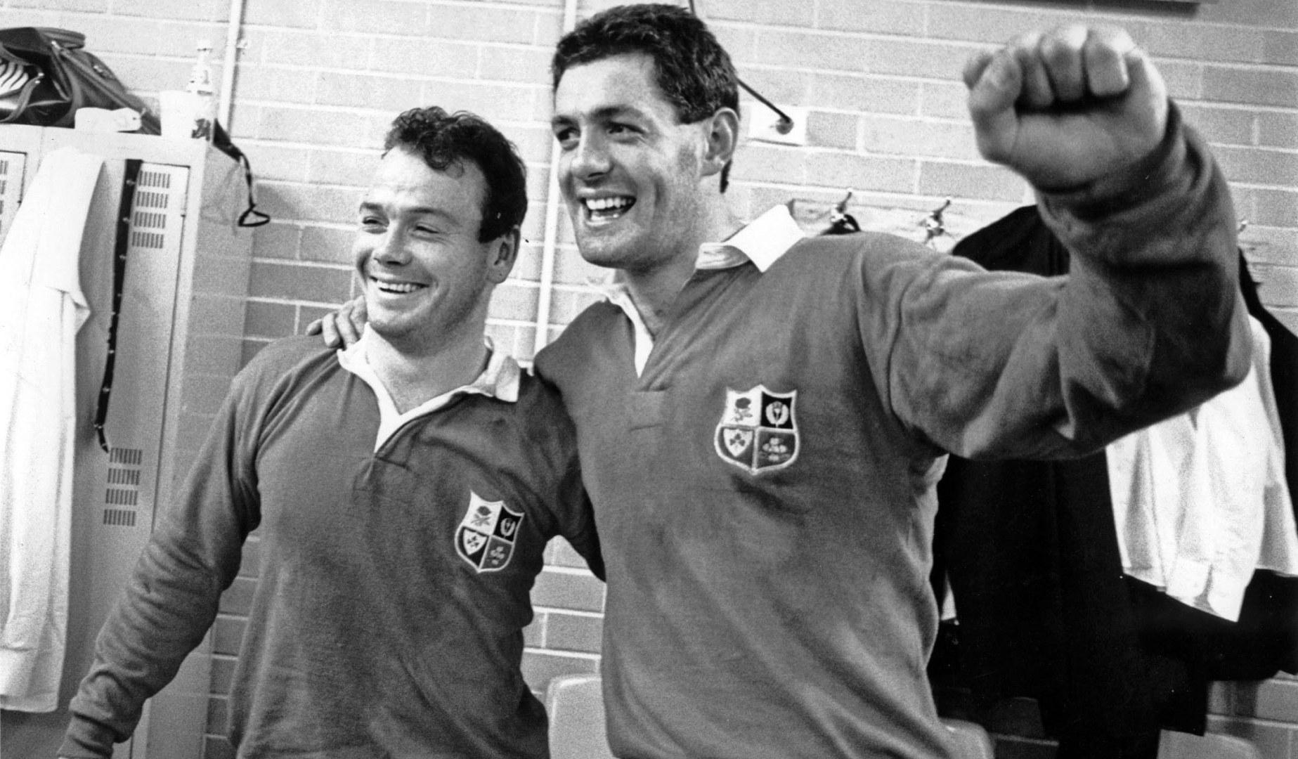 British & Irish Lions captains: Gavin Hastings