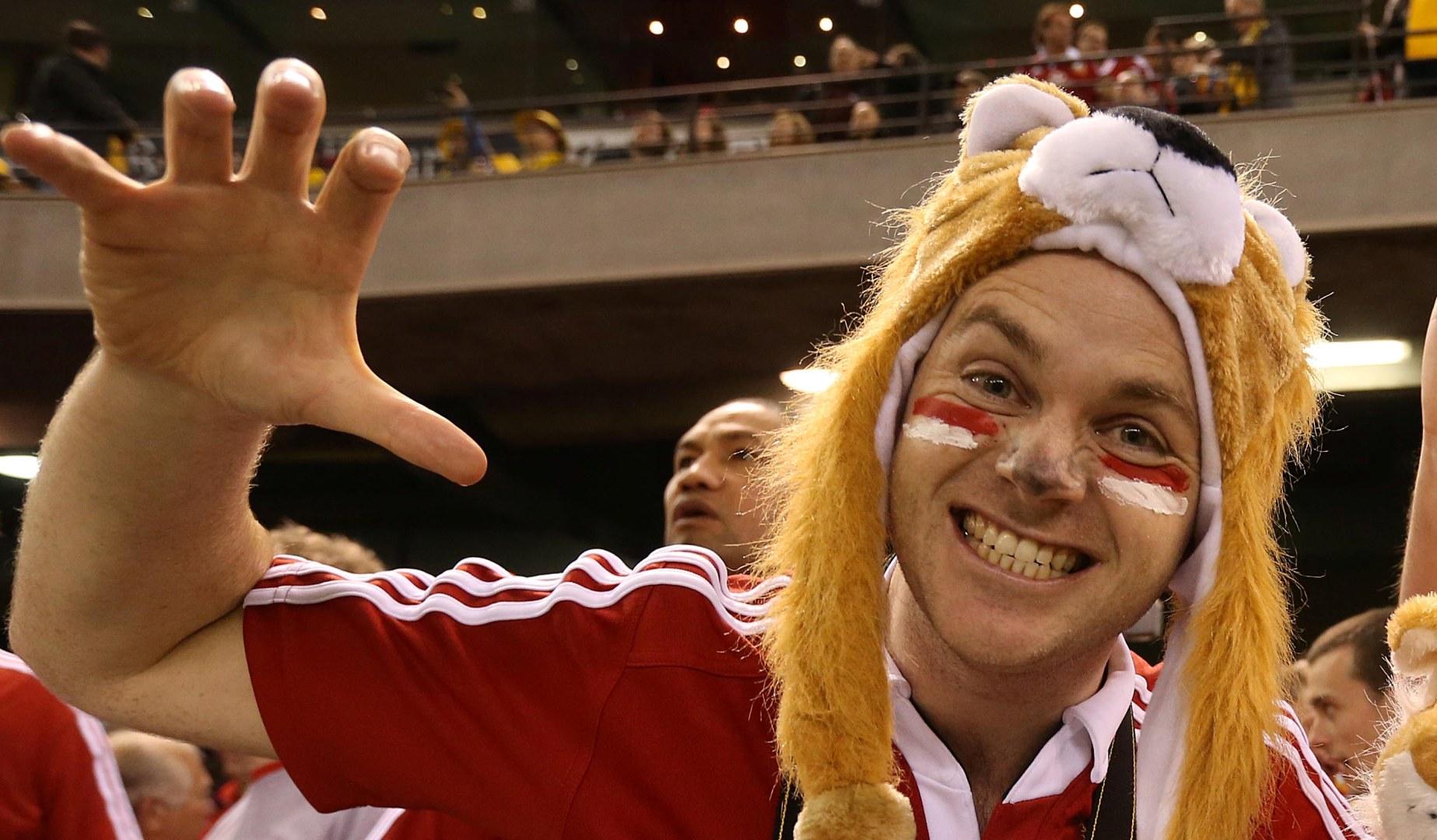 Auckland-bound Lions fans won't be short of entertainment