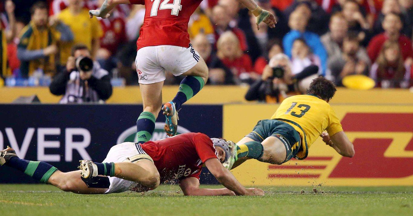 Ashley-Cooper treble puts Wallabies into World Cup final
