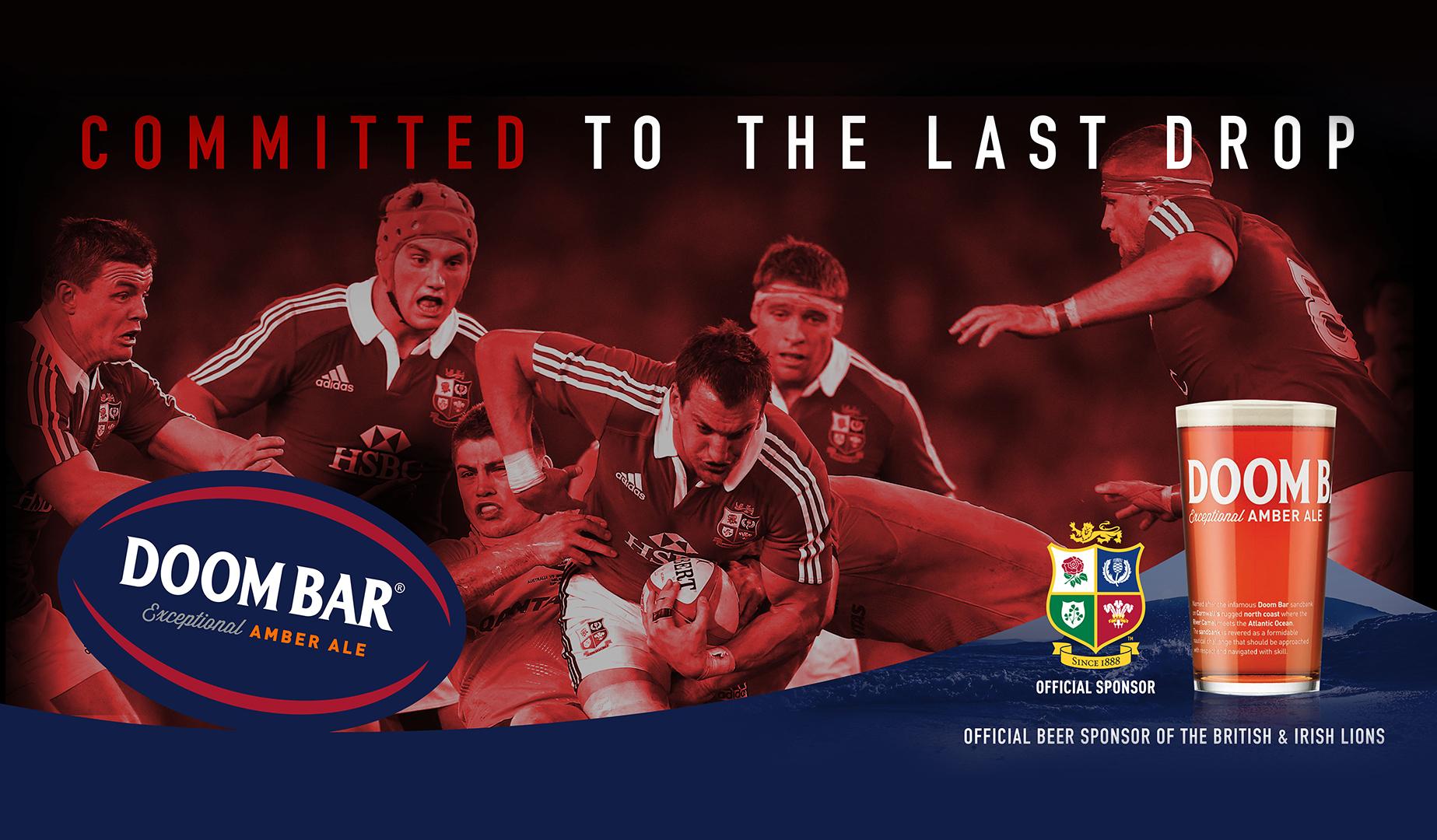 The British & Irish Lions Pack Down With Doom Bar