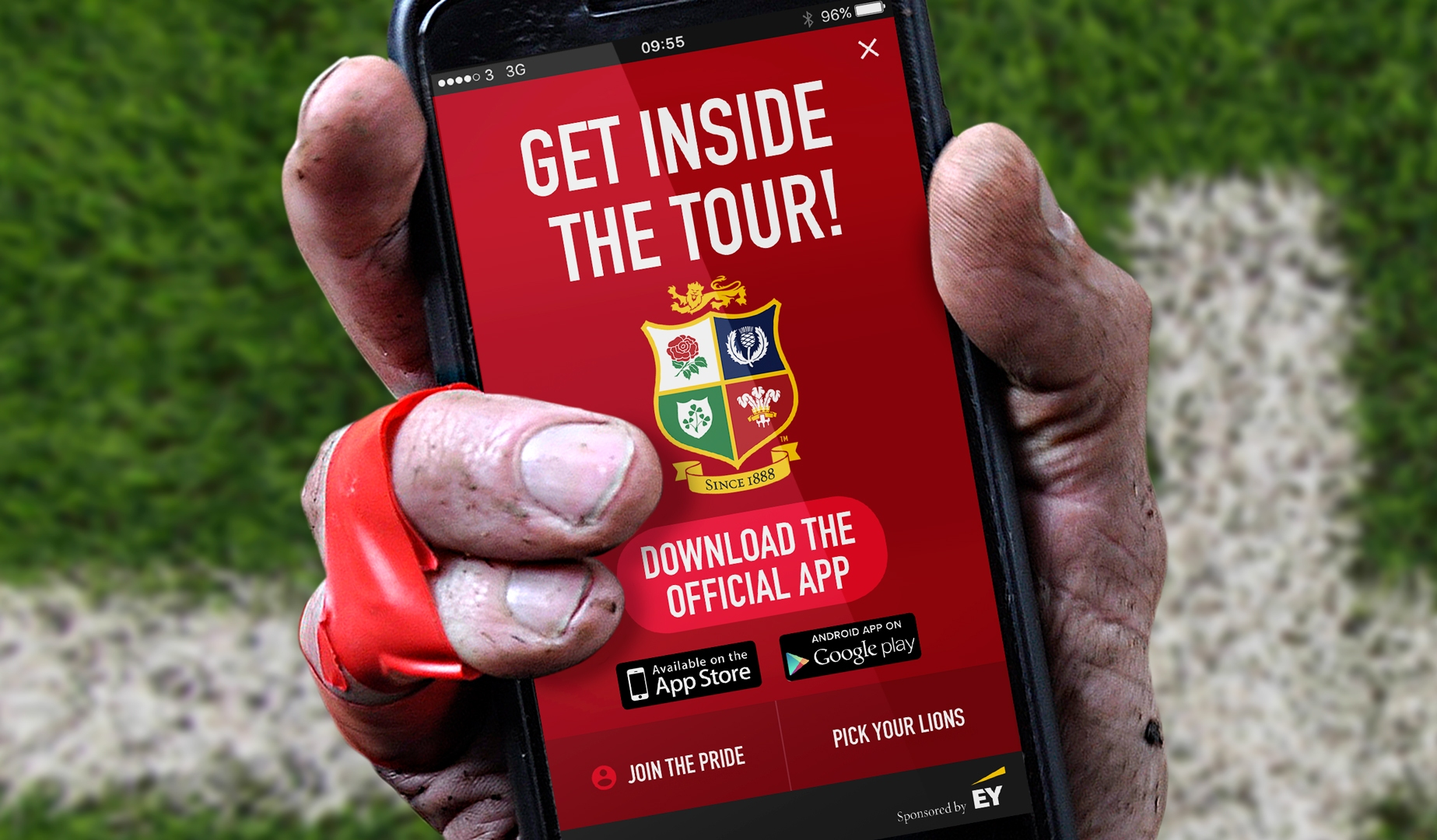 'My Lions' Selector Game Showpiece For Official App