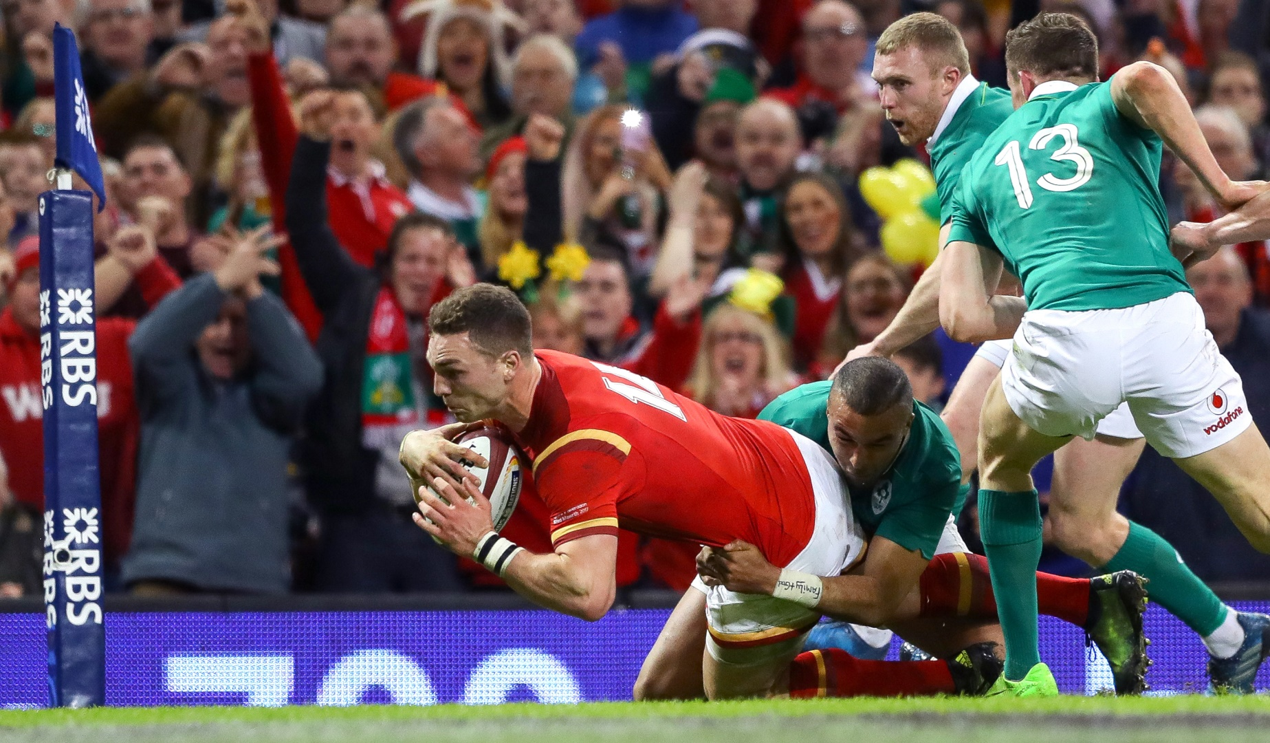 LionsWatch: North and Webb shine as Wales down Ireland