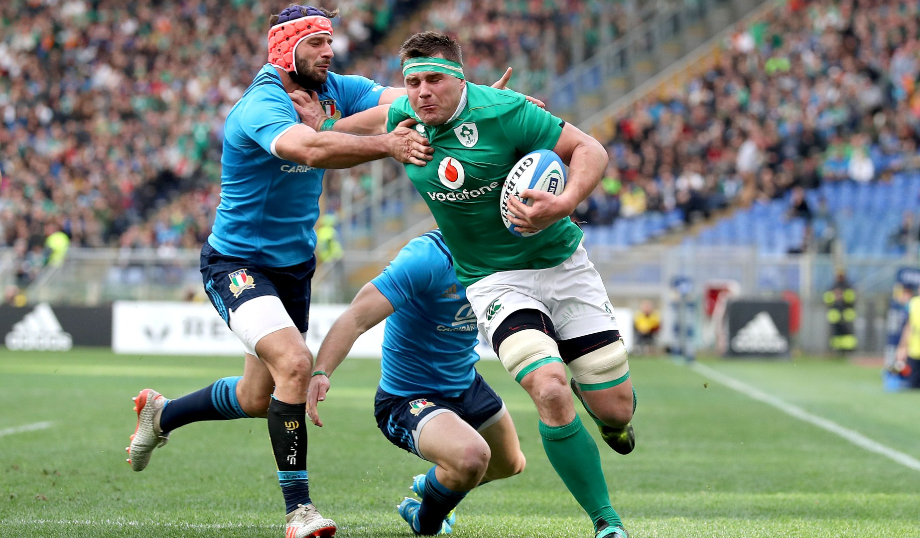 LionsWatch: Memorable day for Stander and Ireland in Rome