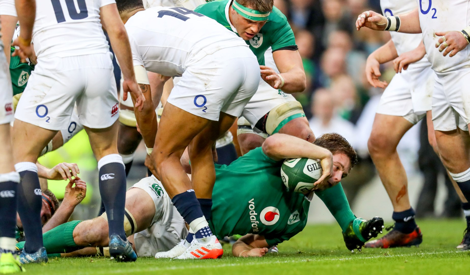 LionsWatch: Ireland rain on England's parade