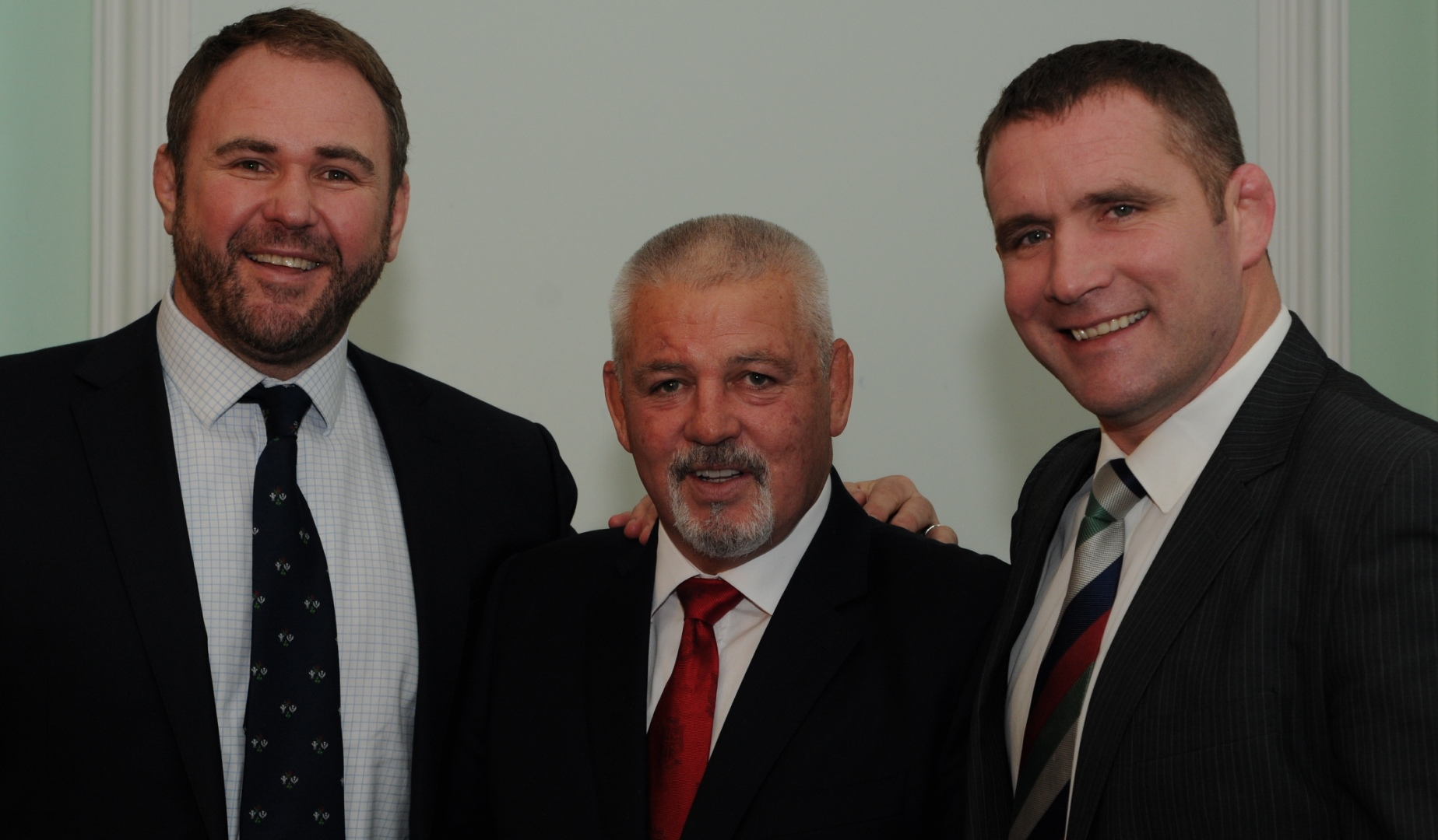 Legends gather to kick off 'Leading The Lions' Dinner Series in Cardiff