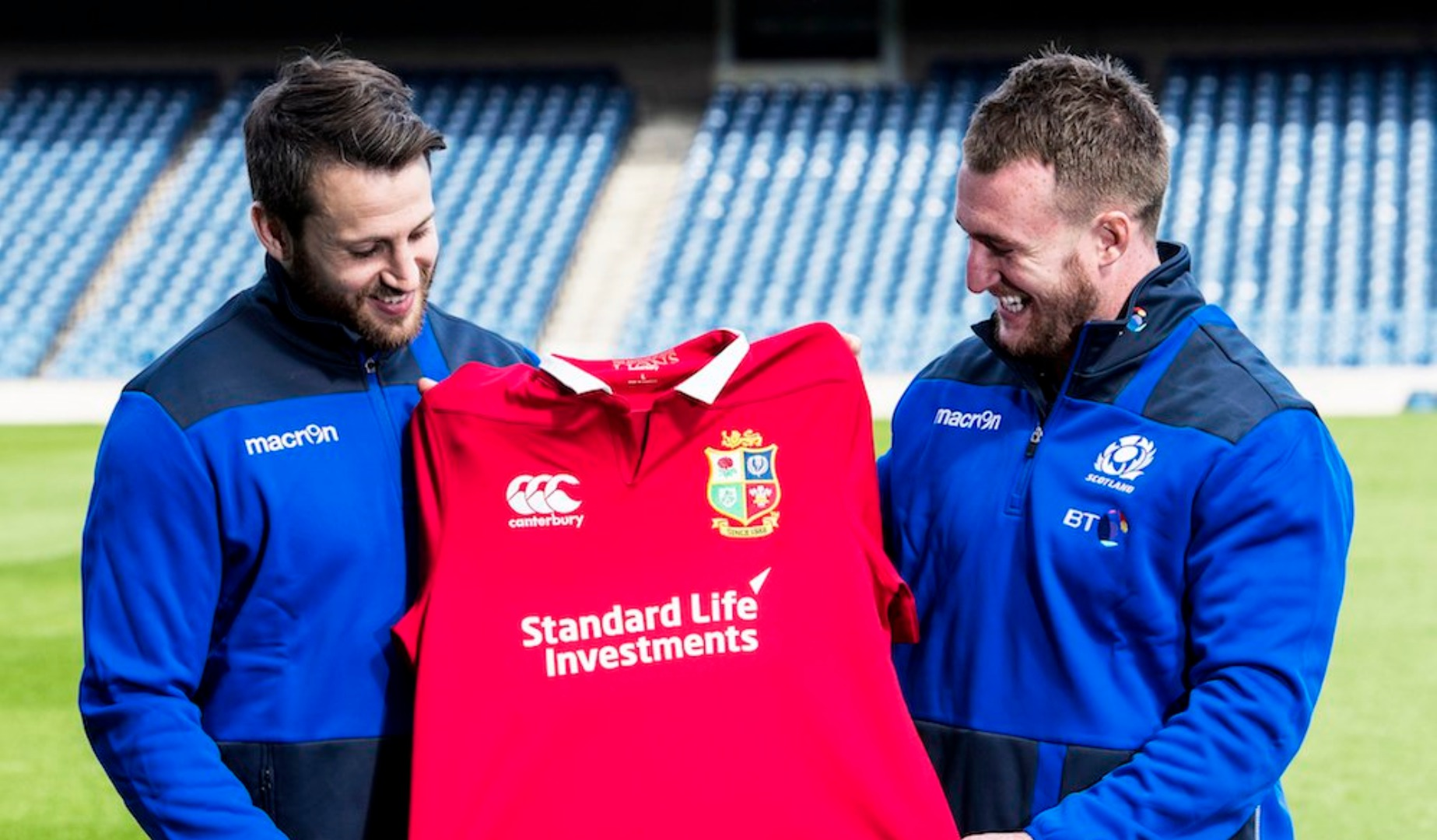 Hogg and Seymour delighted at Lions call-ups