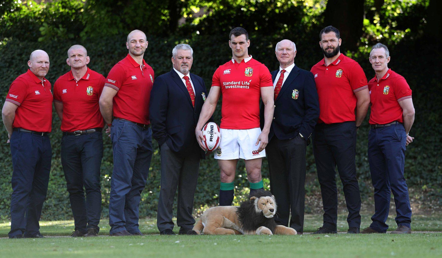Gatland unveils his 2017 Lions squad