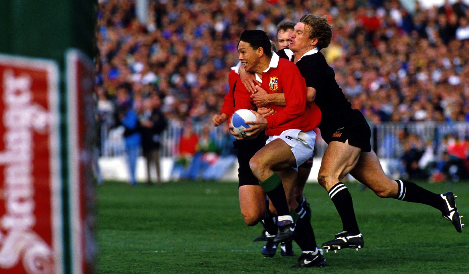 Classic Match: Underwood downs the All Blacks in 1993