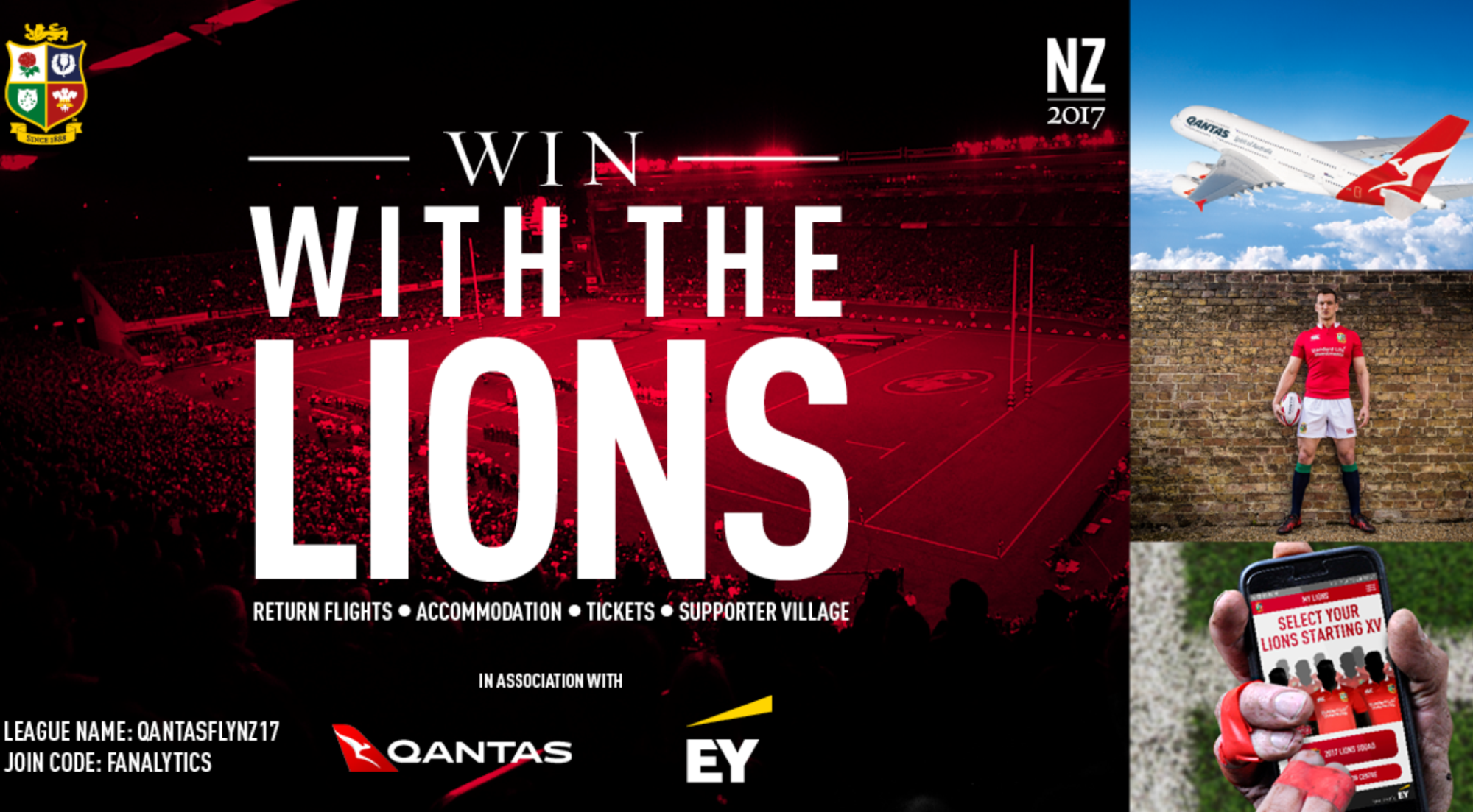 Win with Qantas and EY